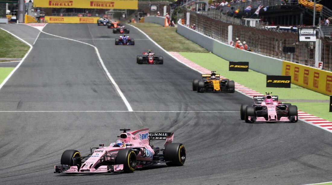 Force India - Formel 1 - GP Spanien - 14. Mai 2017