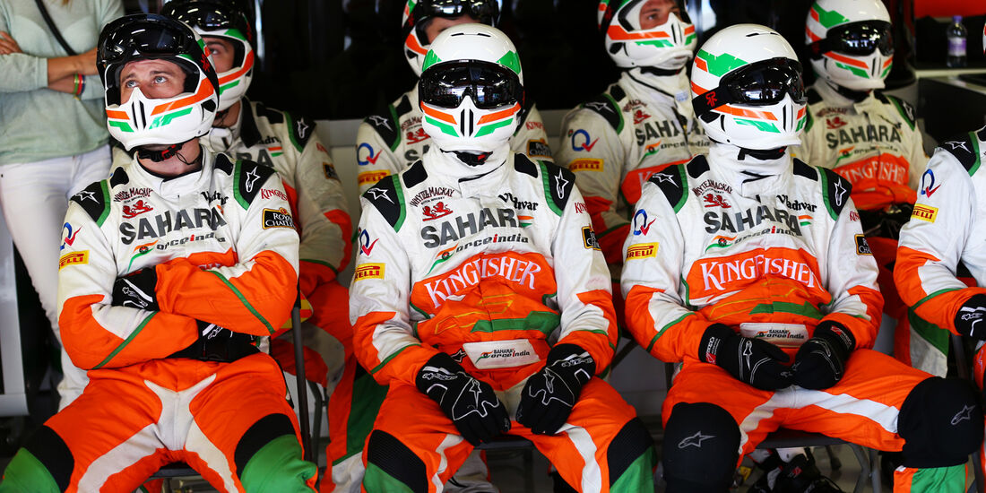 Force India - Formel 1 - GP Spanien 2013