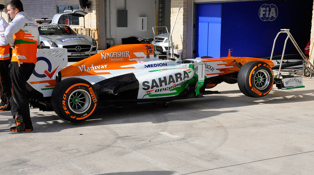 Force India - Formel 1 - GP USA - 14. November 2013