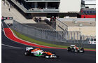 Force India - Formel 1 - GP USA - Austin - 16. November 2012