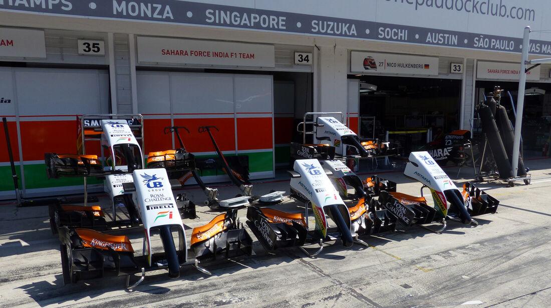 Force India - Formel 1 - GP Ungarn - 24. Juli 2014