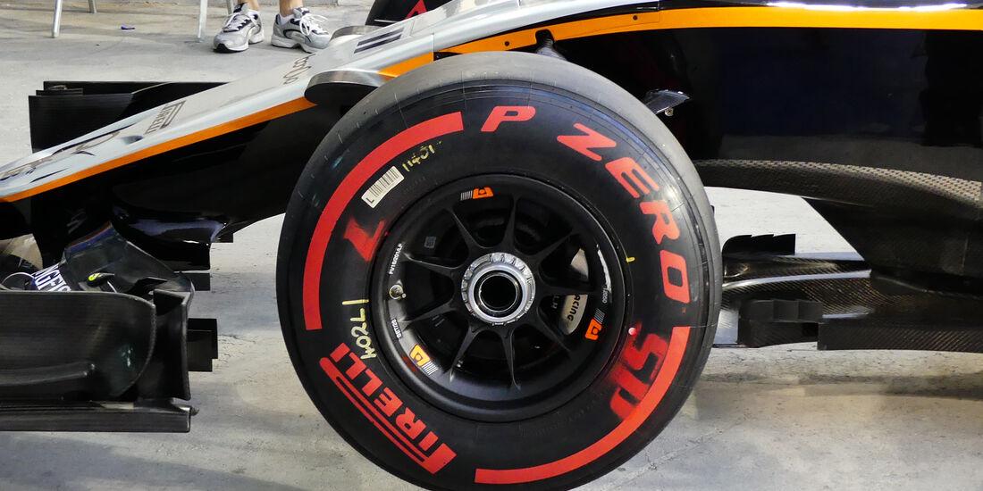 Force India - Formel 1 - Technik - GP Bahrain 2016