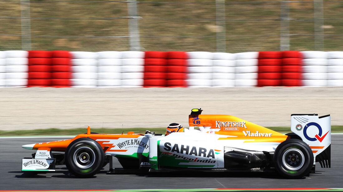 Force India Formel 1 Technik GP Spanien 2012