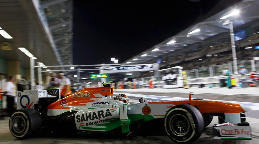 Force India - GP Abu Dhabi 2013