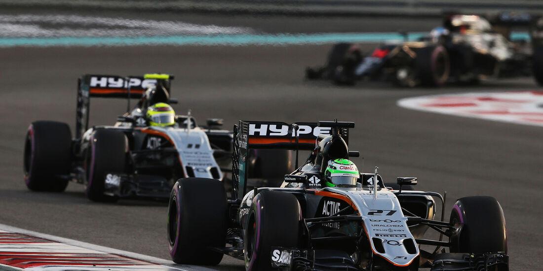 Force India - GP Abu Dhabi 2016