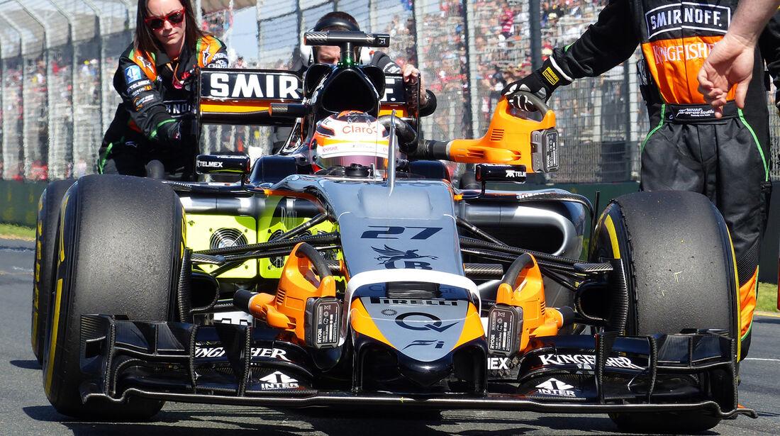 Force India - GP Australien - 2015
