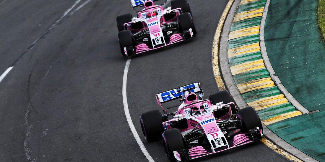 Force India - GP Australien 2018