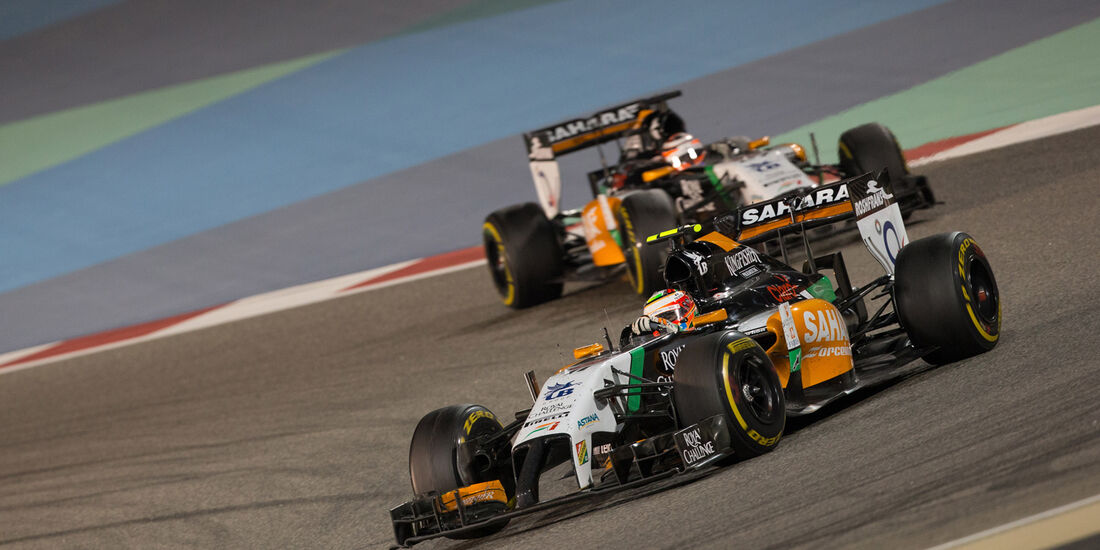Force India - GP Bahrain 2014