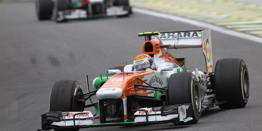 Force India - GP Brasilien 2013