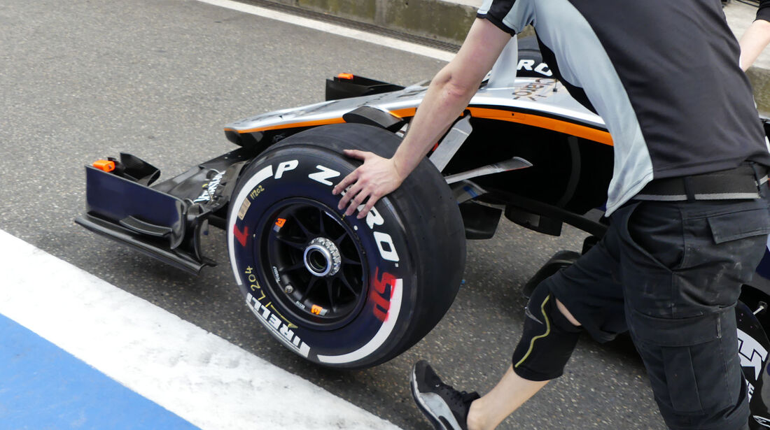 Force India - GP China - Shanghai - Donnerstag - 14.4.2016