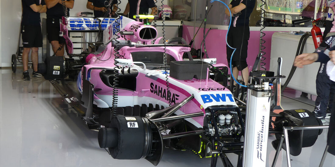 Force India - GP England - Silverstone - Formel 1 - Freitag - 6.7.2018
