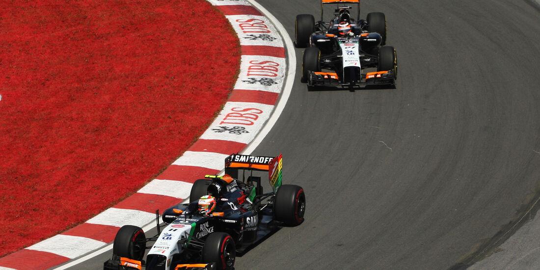 Force India - GP Kanada 2014