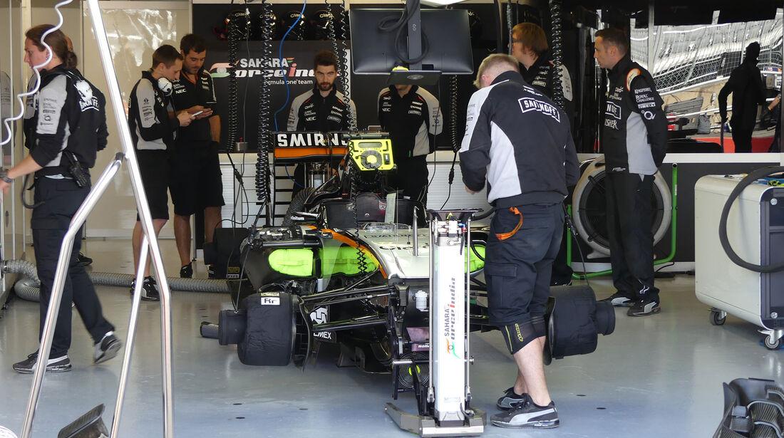 Force India - GP Kanada - Montreal - Freitag - 10.6.2016