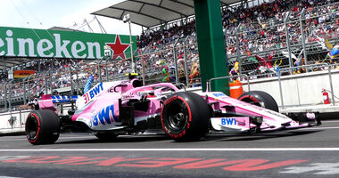 Force India - GP Mexiko - 2018