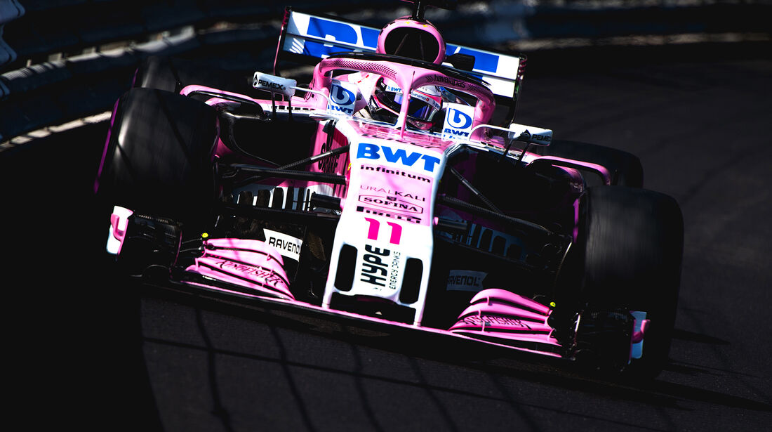 Force India - GP Monaco 2018