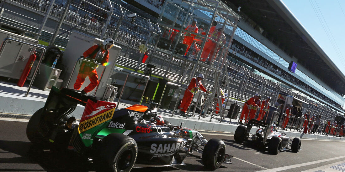 Force India - GP Russland 2014