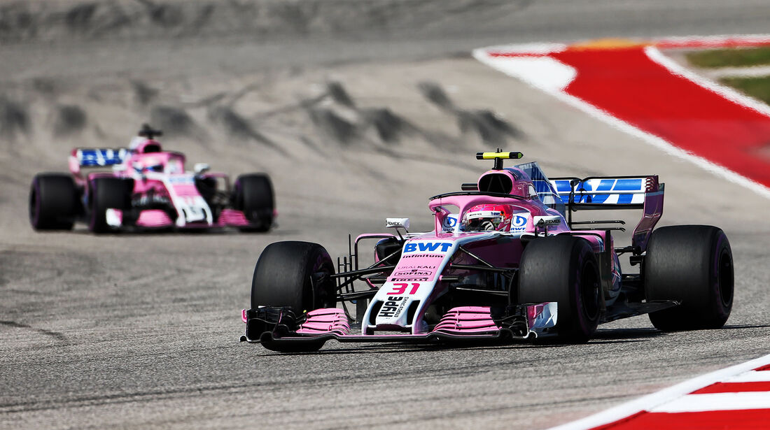 Force India - GP USA 2018