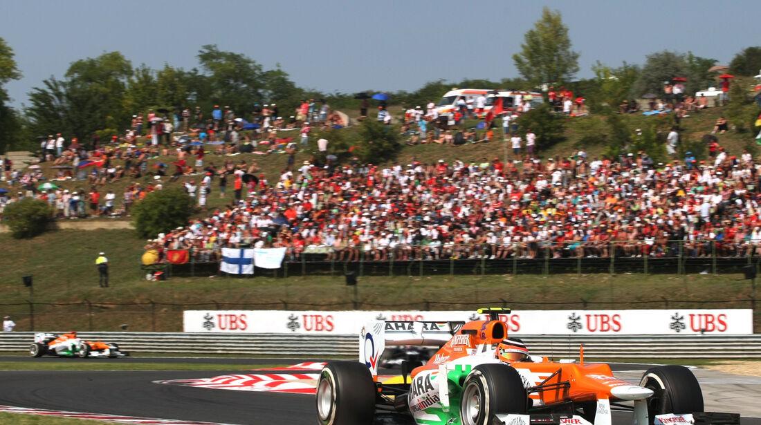 Force India GP Ungarn 2012