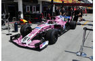 Force India - GP Ungarn - Budapest - Formel 1 - Donnerstag - 26.7.2018