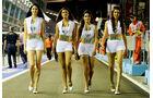 Force India-Girls - Formel 1 - GP Singapur - 22. September 2012