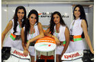 Force India-Girls - Formel 1 - GP Singapur - 22. September 2012