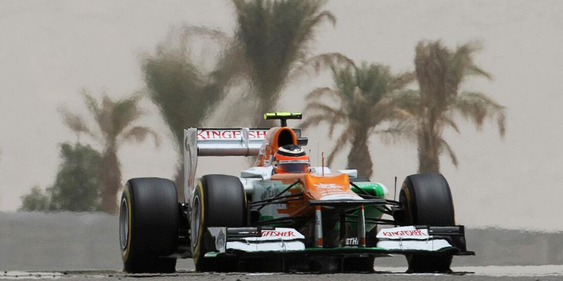 Force India Nico Hülkenberg GP Bahrain 2012