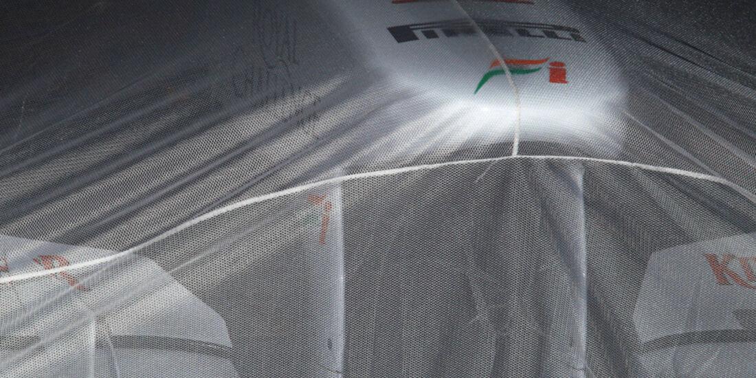 Force India - Parc Ferme
