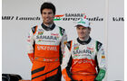Force India - Präsentation - Jerez - 28. Januar 2014