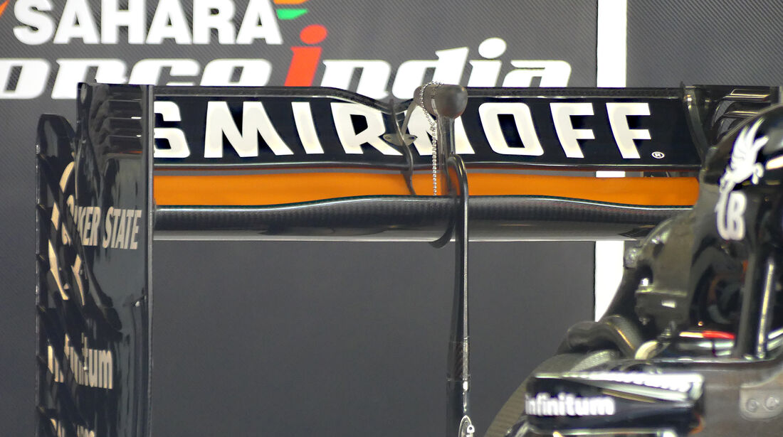 Force India - Technik - GP Italien 2016