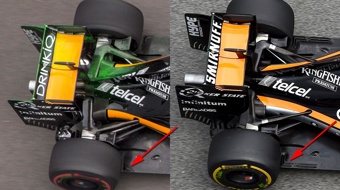 Force India - Technik - GP Monaco 2016