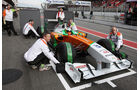 Force India VJM04 Di Resta Formel 1 Test Barcelona 2011