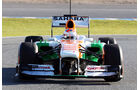 Force India VJM06 Nase F1 Jerez 2013