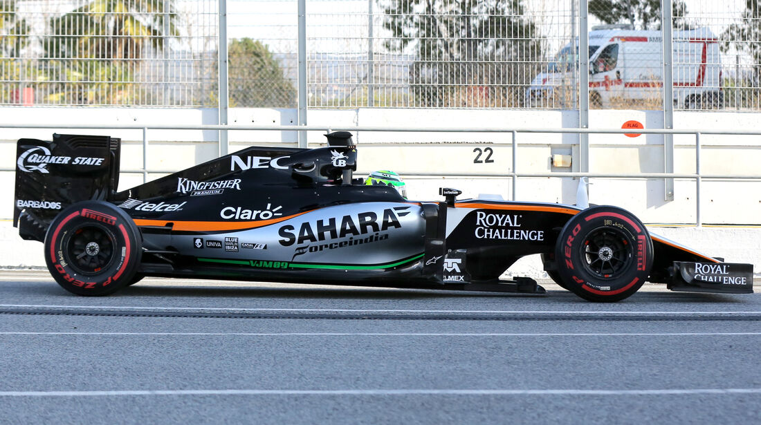 Force India VJM09 - F1 2016 - Profil