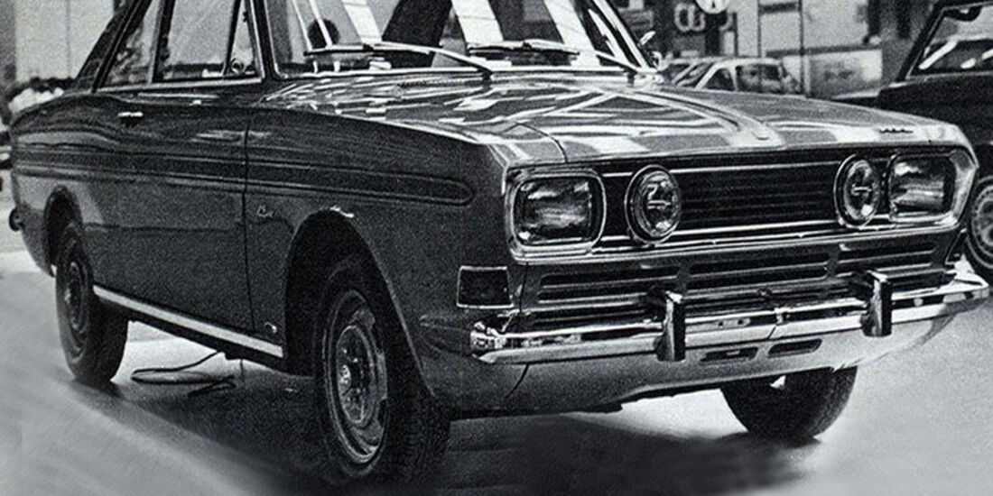 Ford, 15-M RS, IAA 1967