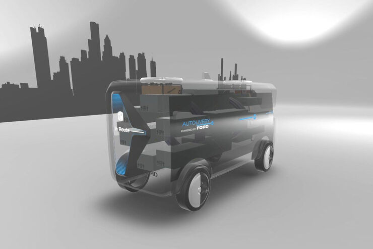 Ford Autonomous Delivery Concept