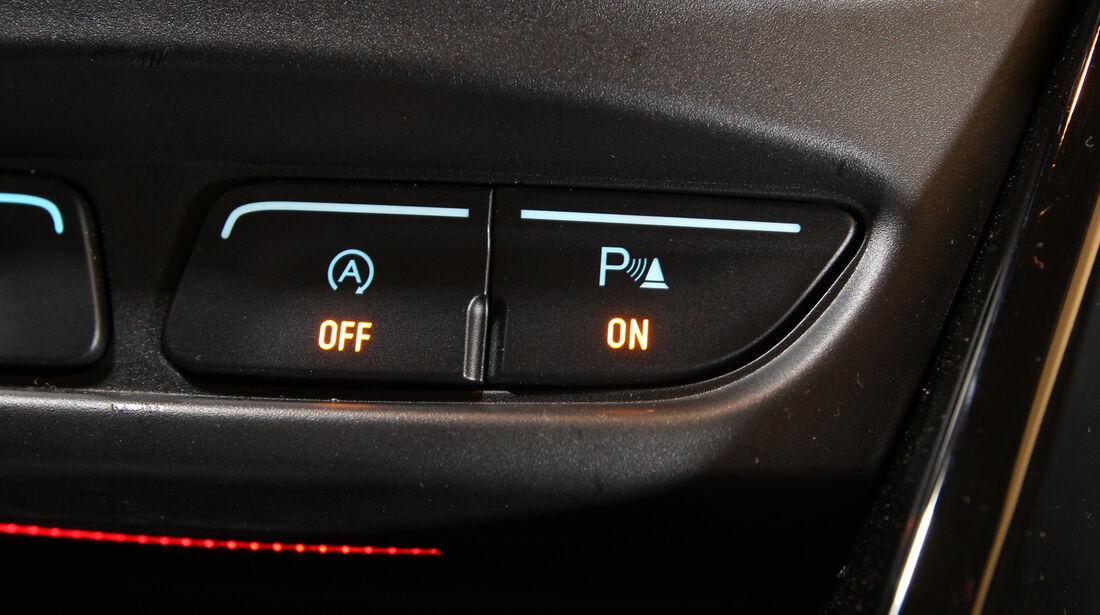 Ford B-Max 1.0 Ecoboost Titanium, Bedienelemente