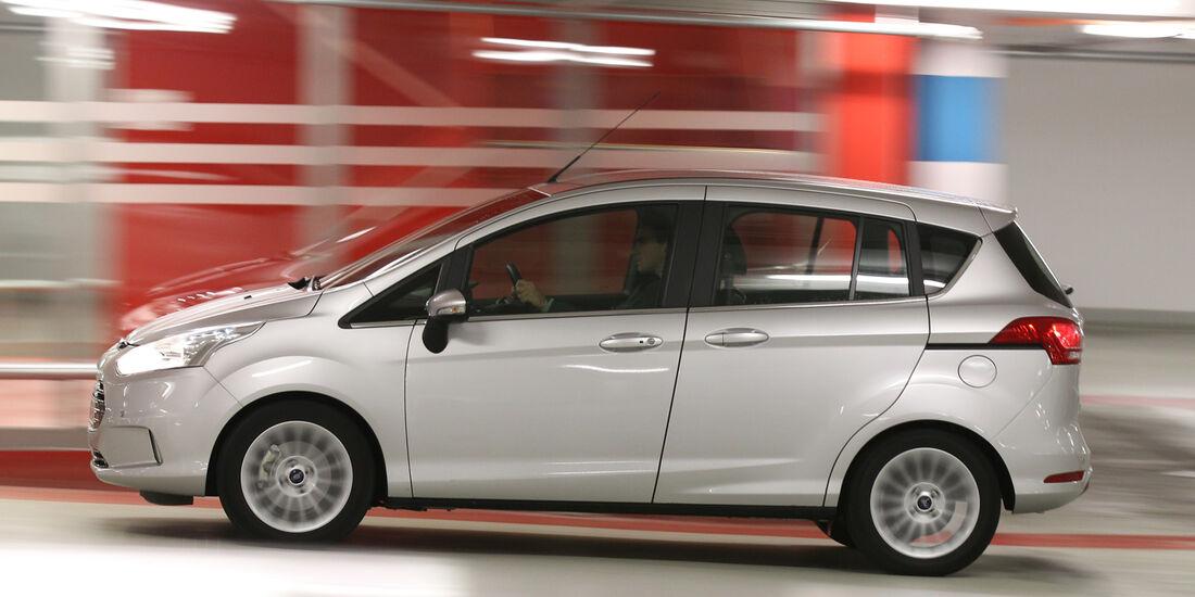 Ford B-Max 1.0 Ecoboost Titanium, Seitenansicht