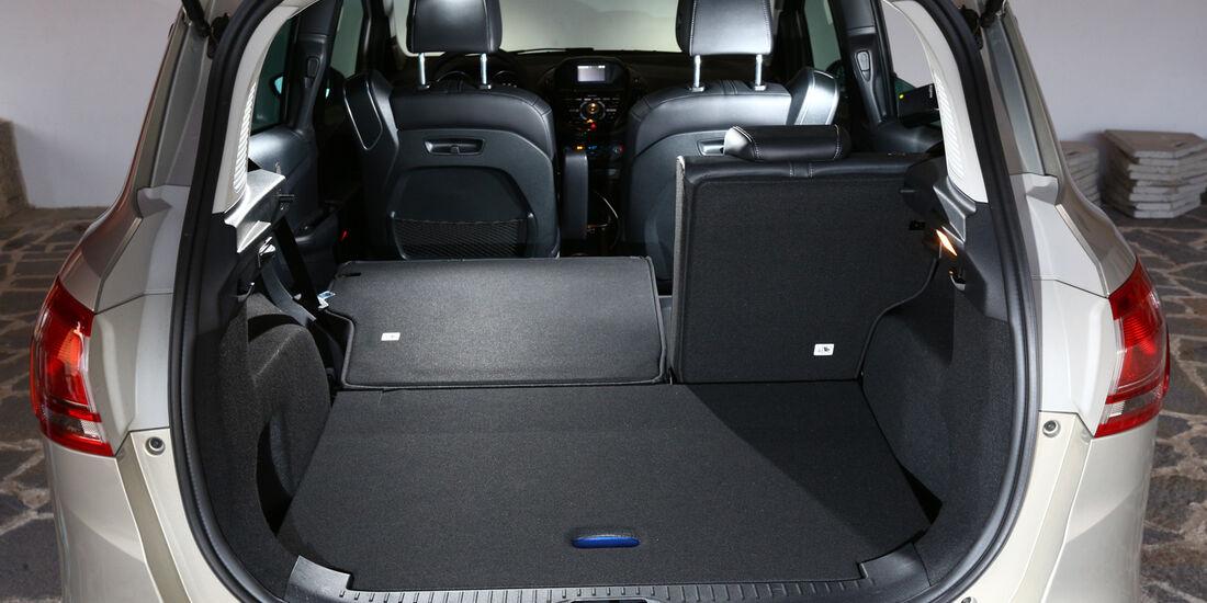 Ford B-Max 1.6 TDCi, Kofferraum, Sitz umklappen