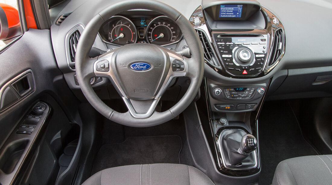 Ford B-Max, Cockpit, Lenkrad