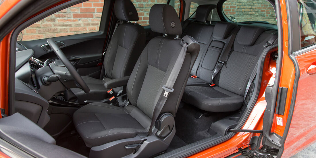 Ford B-Max, Sitze, Innenraum