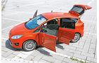 Ford C-Max 1.6 Ecoboost, Seitenansicht, Türen offen