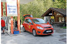 Ford C-Max 1.6 Ecoboost, Tankstelle