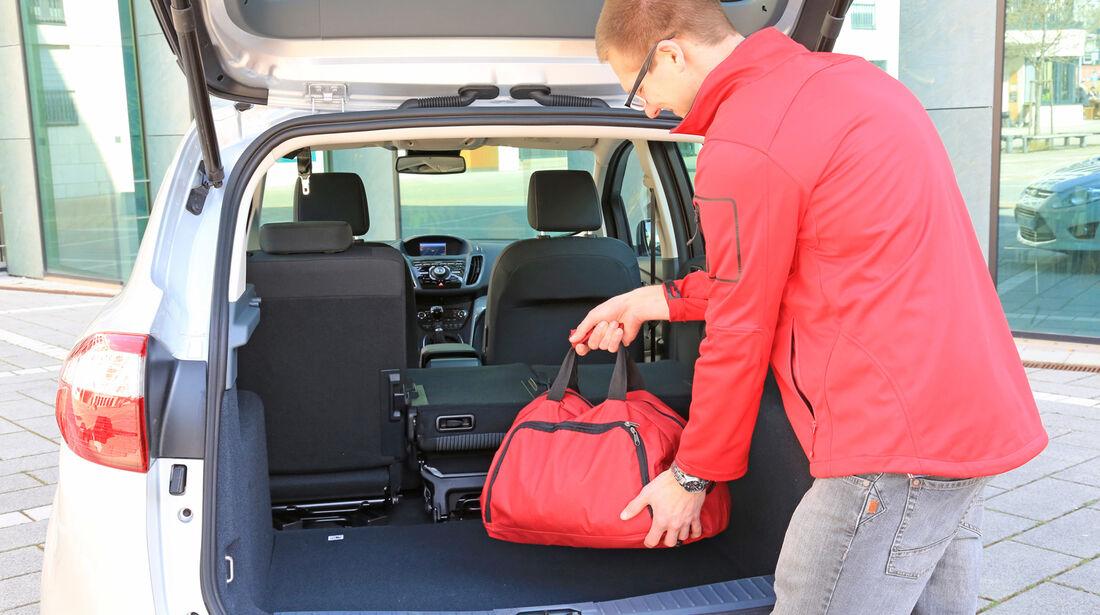 Ford C-Max 2.0 TDCI, Kofferraum