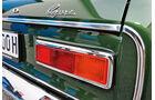 Ford Capri 2600 GT, Heck, Typenbezeichnung