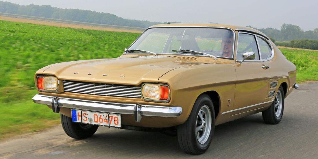 Ford Capri I, Frontansicht