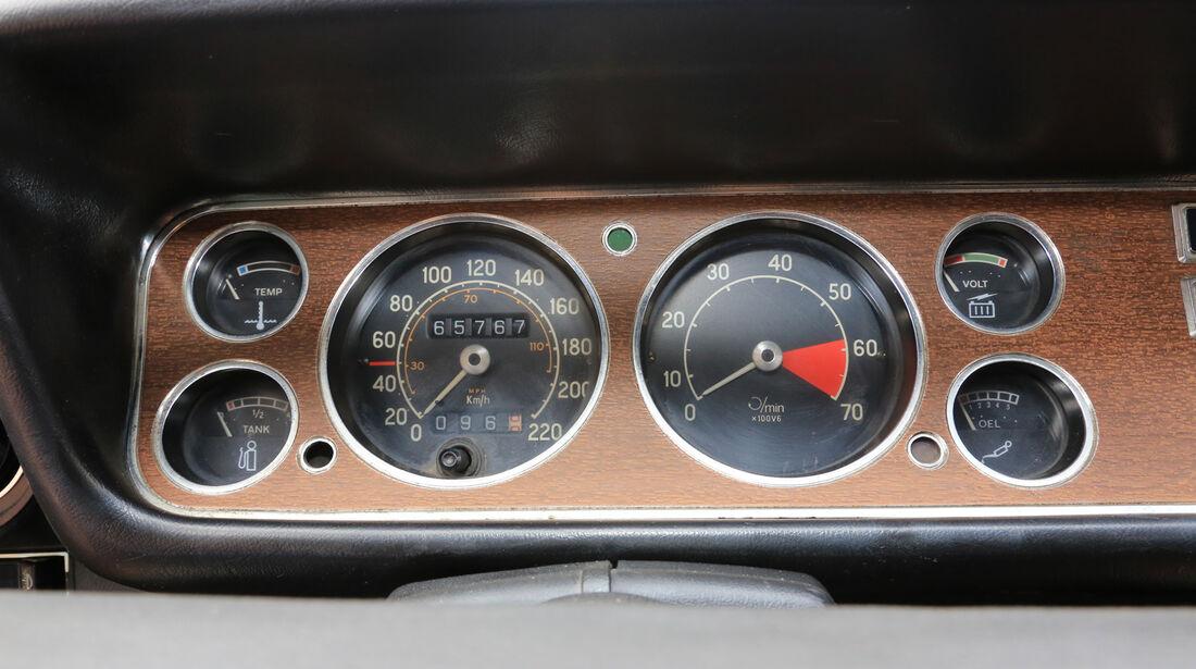 Ford Capri I, Rundinstrumente