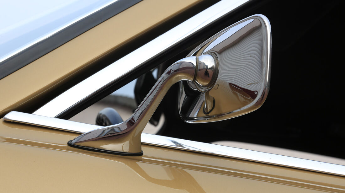 Ford Capri I, Seitenspiegel