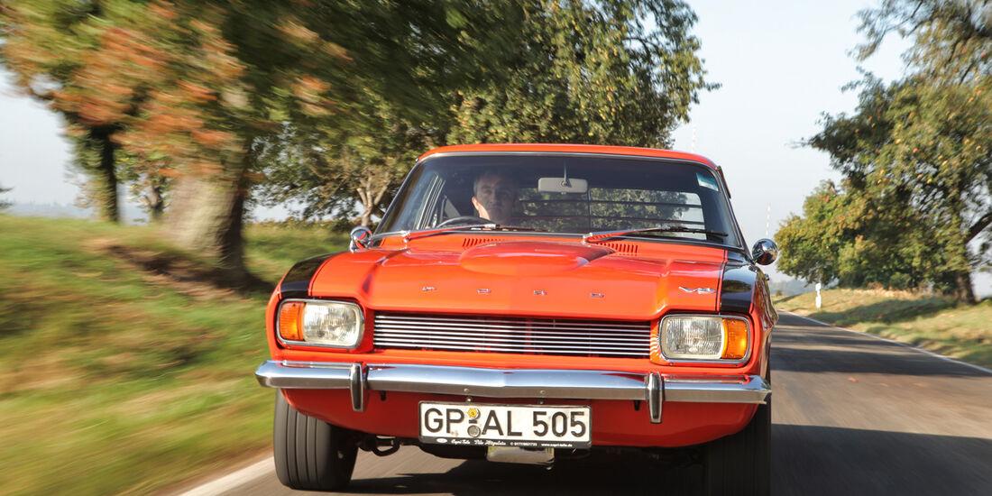 Ford Capri Perana, Frontansicht