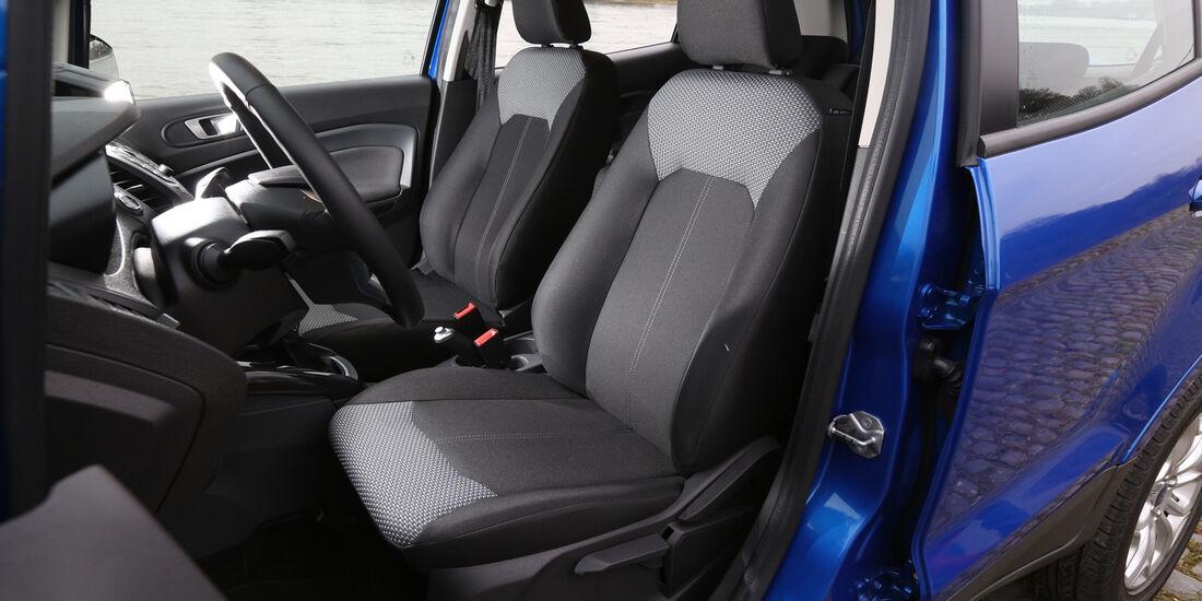 Ford Ecosport 1.0 Ecoboost, Fahrersitz
