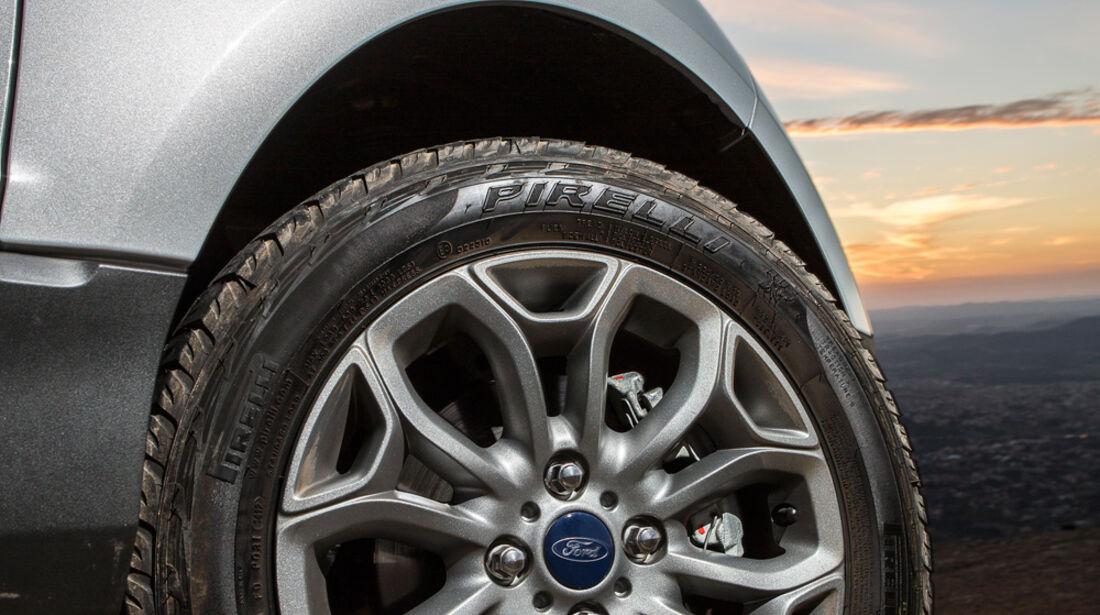 Ford Ecosport 2.0, Rad, Felge